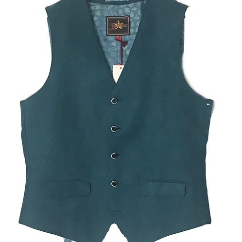 Joe Browns Teal Men's Waistcoat