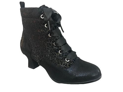 Ruby Shoo Beth Velvet Boot