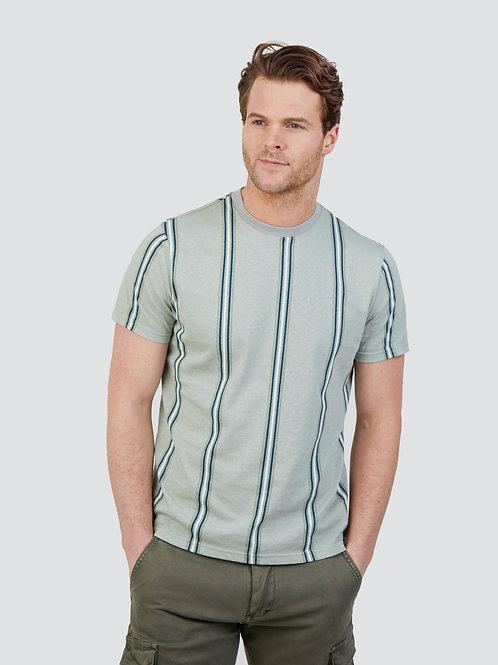 Mish Mash Mizzen Stripe Cotton Jersey T-Shirt