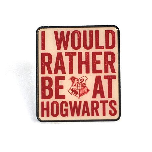 POSS Harry Potter Pin Badge - Hogwarts Slogan