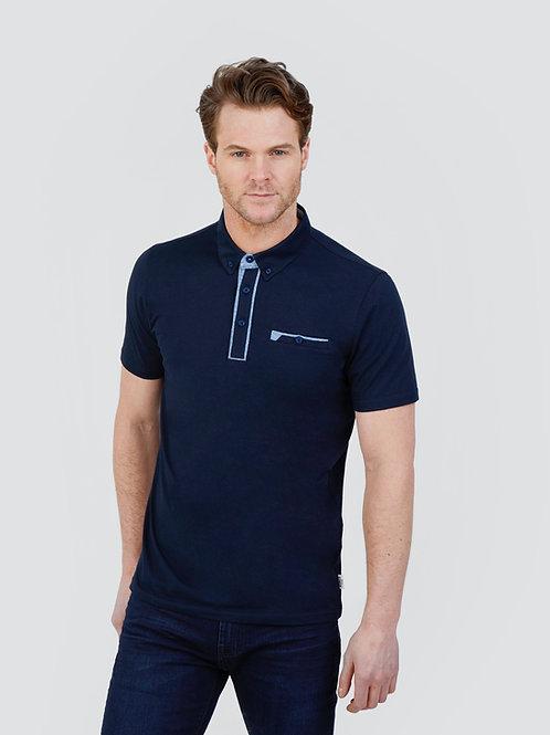 Mish Mash Portifino Geometric Polo Shirt
