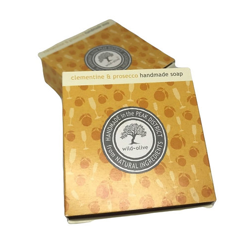 Wild Olive Handmade Vegan Soap - Clementine & Prosecco