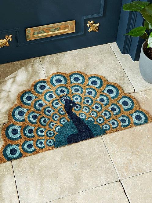 Joe Browns Perfect Peacock Shaped Doormat