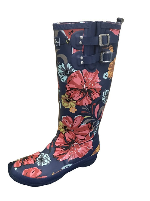 Ruby Shoo Esme Coral Wellington Boot