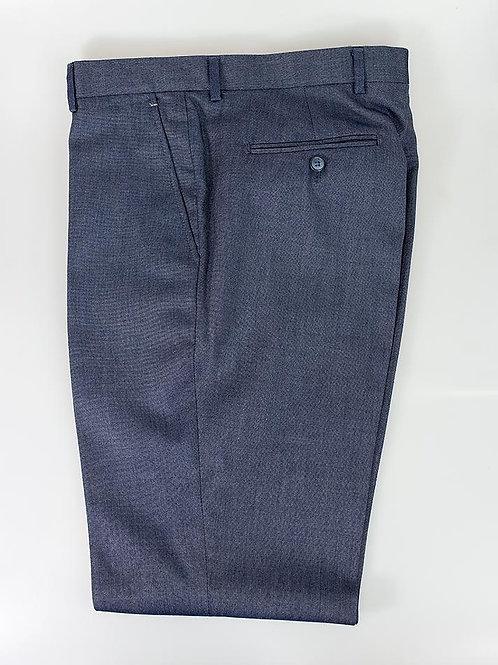 Cavani Steele Blue Slim Fit Trousers