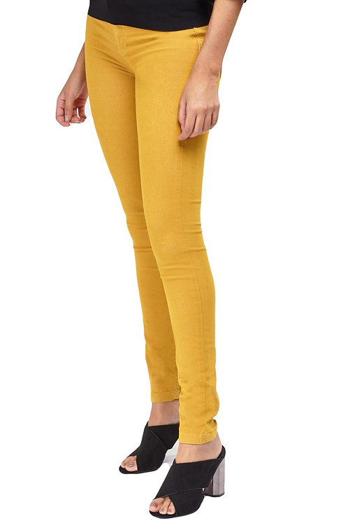 Joe Browns Stretch Mustard Jeans