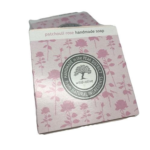Wild Olive Handmade Vegan Soap - Patchouli Rose