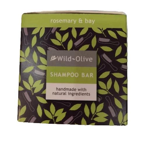 Wild Olive Handmade Shampoo Bar - Rosemary and Bay