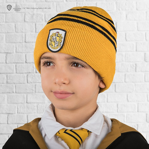 Harry Potter Kids Hufflepuff Gloves and Beanie set