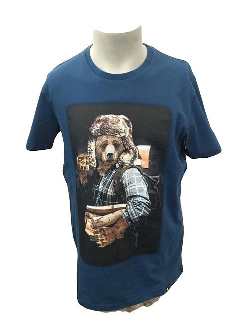 Joe Browns Lumbear Teal Men's T-Shirt