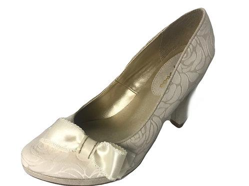 Ruby Shoo Susanna Cream Wedding Shoe