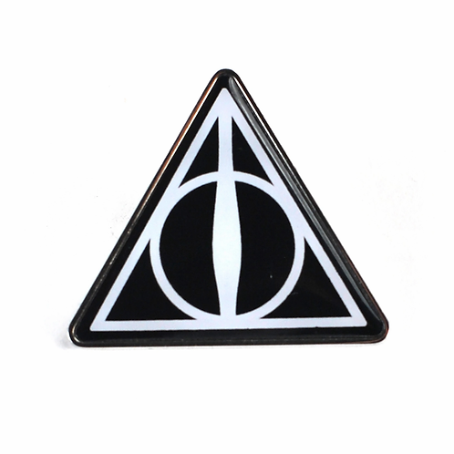 POSS Harry Potter Pin Badge - Deathly Hallows