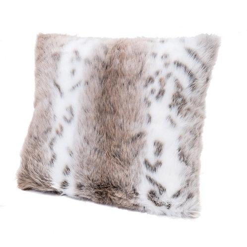 LYNX Fur Effect Cushion (Faux)