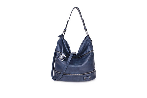 Women's Zipped Slouch Bag Sp8382