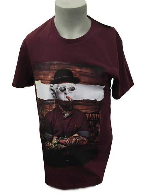 Joe Browns Bowler Tattoo Men's T-Shirt