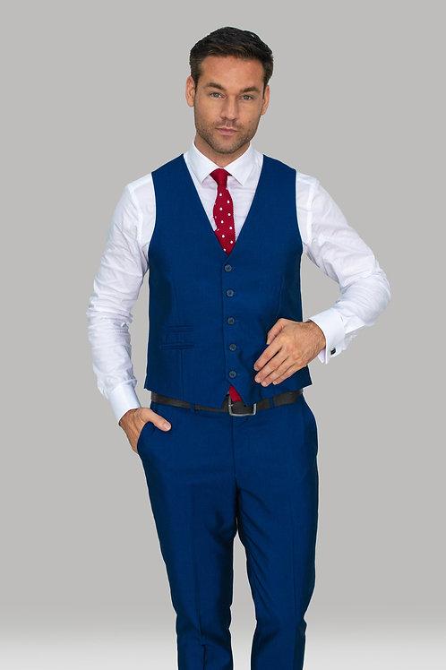 Cavani Ford Blue Waistcoat