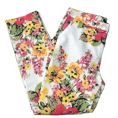Paramour White Floral Trousers