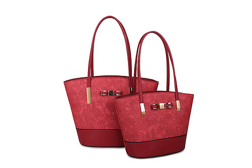 Women's Large Lace Tote Bag 96653