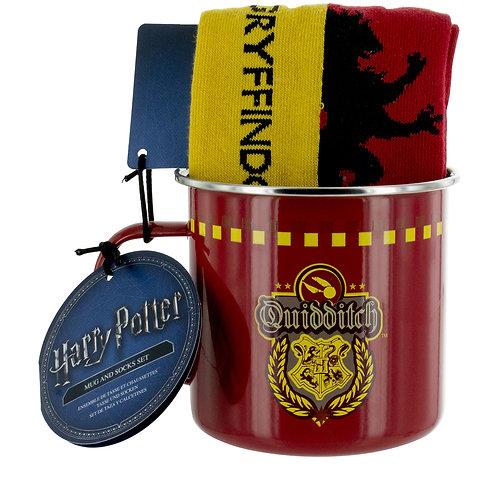 Harry Potter Tin Mug & Socks Set