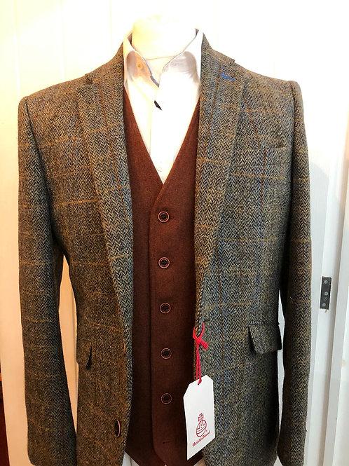 Brook Taverner - Harris Tweed Jacket - Sumburgh