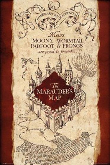 HARRY POTTER Marauder's Map Poster FP4099