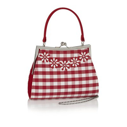Ruby Shoo Mendoza Red Hand Bag