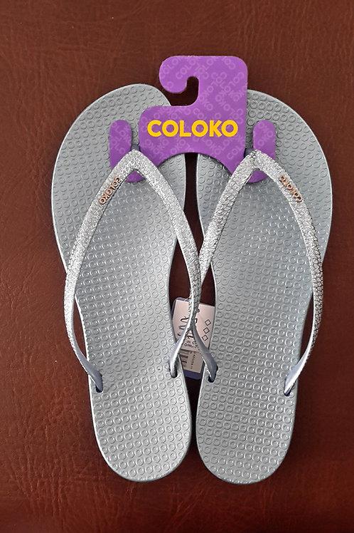 Coloko Flip Flops Blue Freesia
