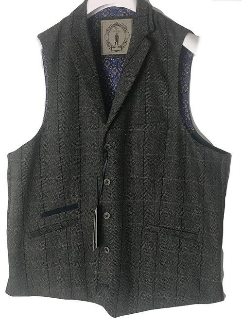 Cavani Albert Grey Men's Waistcoat