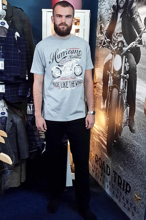 Hurricane Grey Motorbike Men's T-Shirt
