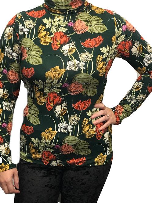 Joe Browns Floral Roll Neck Top