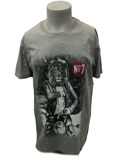 Joe Browns King of the Road Grey Men's T-Shirt