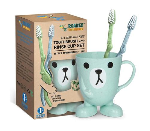 T-Rex Toothbrush Set