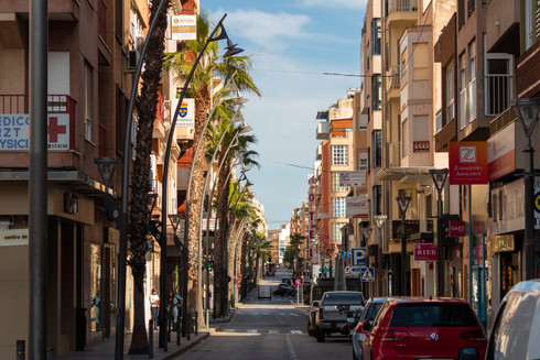 Calle Ramon Gallud, Torrevieja