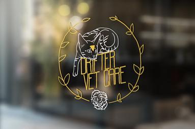 Drifter Vet Care Window Logo