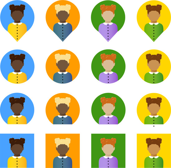 People Icon Sheet