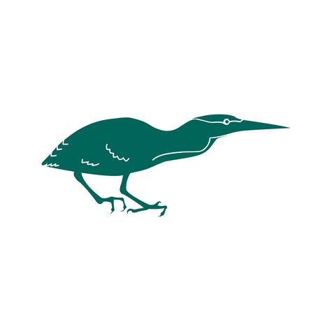 Green Heron Logo