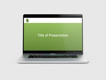 La Hoja PowerPoint Title Slide