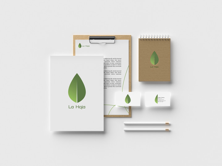 La Hoja Stationary Branding Package