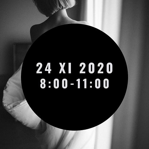 Sesja kobieca 24 XI  8:00-11:00