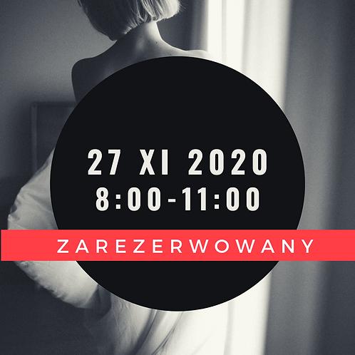 Sesja kobieca 27 XI  8:00-11:00