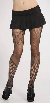 LIP SERVICE Patchwork Tights