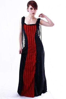 PHAZE UK Velvet Bow Ribbon Dress