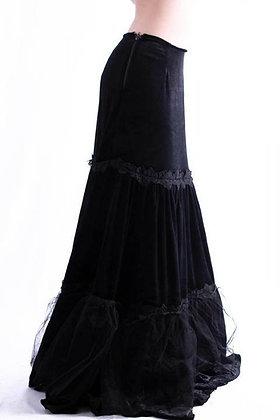 PHAZE Velvet Widow Long Skirt