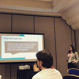Angela Presents at The National Conference for Engaged Scholarship on Foster Alumni