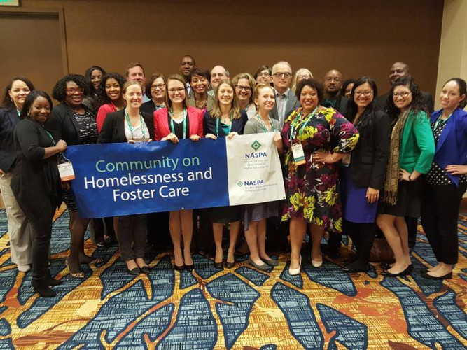 NASPA Community on Homelessness and Foster Care