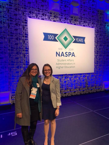 Foster Scholars at the 2018 NASPA Annual Conference.