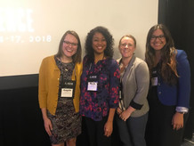 Foster Scholars at ASHE Conference.