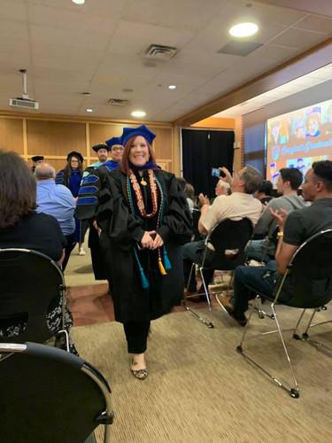 Dr. Molly Sarubbi Graduating.