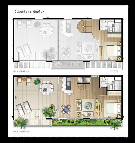 105 m² - 2 vagas na garagem, 2 suítes