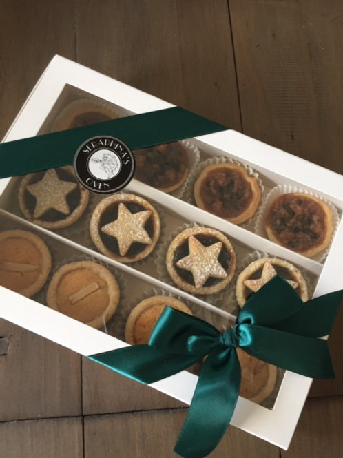 Festive Tarts Mince, Butter or Almond or Mixed